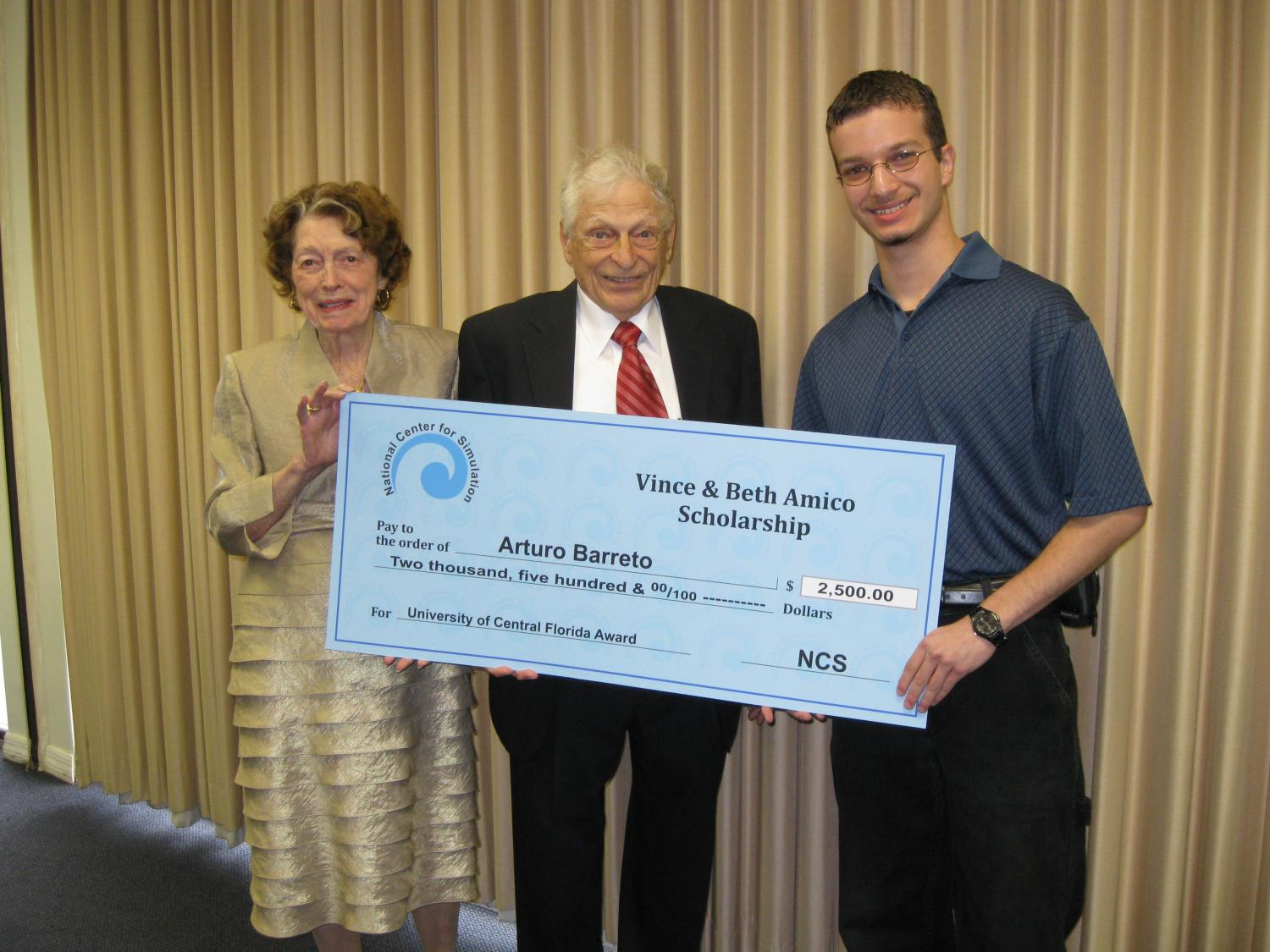 Vince and Beth Amico Scholarship