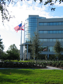 The five-story Partnership II building is home to IST administrative headquarters and administrative and research staff. Other tenants include elements of DoD simulation and training, UCF Advanced Distributed Learning and Team Performance laboratories.